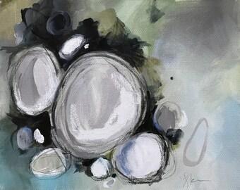 Palm of Your Hand  - Abstract Art - Mixed Media on Canvas - Gallery Wall Art - Modern Art - Abstract Wall Art - Original Art