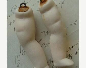 ON SALE Adorable Vintage Bisque Pudgy Baby Doll Legs unit 1114