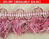Vintage French Fringe Passementerie Shade Pillow