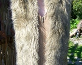 Fur Collar, Fur Scarf, Vegan Fur, Faux Fur collar, Faux Fur Scarf, Long Fur scarf, Long Faux Fur