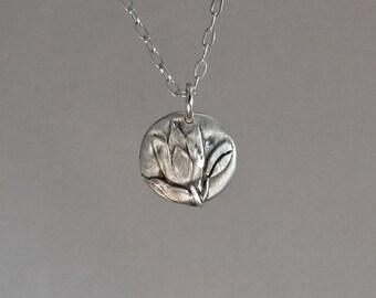 Tulip Necklace in 3D