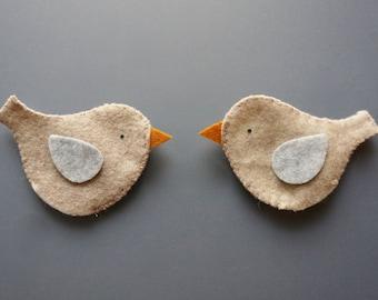 Two Little Bird Finger Puppet