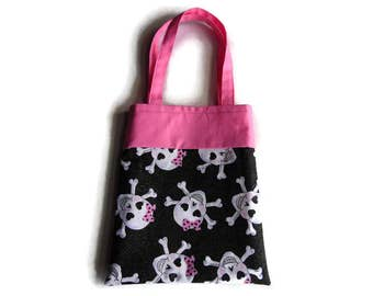 Skull Gift Bag - Goodie Bag - Mini Tote