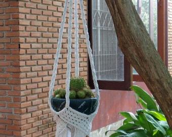 Macrame Plant Hanger Basket 3