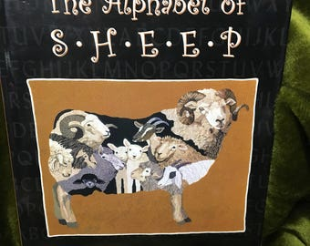 Rug Hooking Book Alphabet Sheep by Patty Yoder