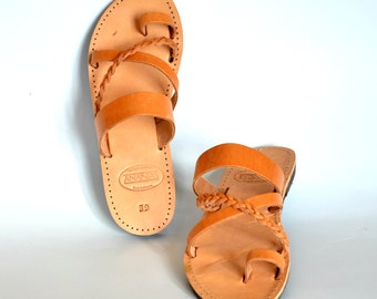 ANANIAS Roman Greek handmade leather sandals