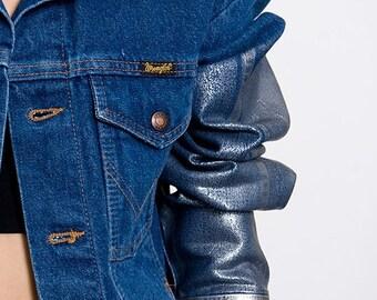 30% off SPRING SALE The Wrangler Corduroy Collar Foiled Sleeved Jacket