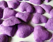 Heart Seed Bomb - Purple Wedding Favors - Outdoor Wedding Favors - Seeded