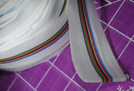 Discontinued Spoonflower Stripe Selvedges