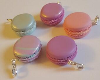 French Macaron Polymer Clay Charm