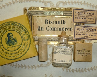 Vintage/Antique Pharmacy French Label