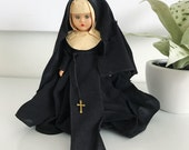 Vintage Nancy Ann Storybook Doll Nun Catholic