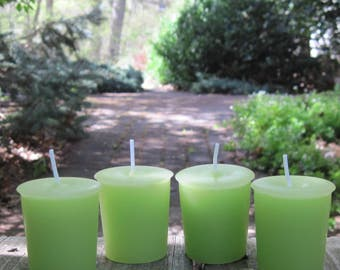 ENGLISH GARDEN (4 votives or 4-oz soy jar candle)