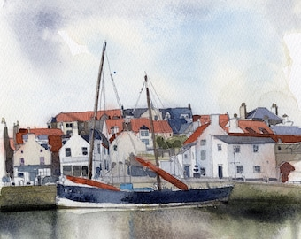 Anstruther Harbour, with the Reaper