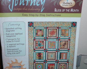 Journey Escape the Ordinary Quilter's Sampler Club Block of the Month