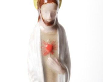 Jesus Hand Painted Ceramic Hanging Ornament