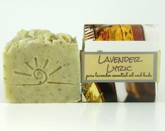 Herbal Lavender Soap / All Natural Soap / Lavender Lyric