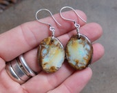 Large Boulder Opal earrings - Nature's Art - Opal gate ways - big bold jewelry