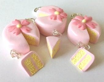 Cherry Blossom Sakura Cake Charm