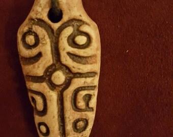 Necklace with Ceramic Pendant