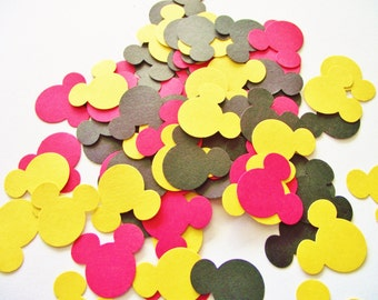Mickey Mouse Confetti - Mickey Mouse Birthday Decor  - Mickey Confetti - Mickey Mouse Baby Shower - Mickey Party