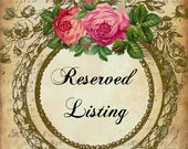 Reserved Listing for Customer Christie