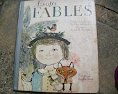 Vintage Book Aesop's Fables Selected and Adapted by Louis Untermeyer and Illustrated by A. and M. Provensen