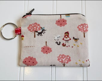 Little Red Riding Hood Coin Pouch
