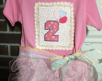 Tu Tu Tee for a 2 in size 3T Pink
