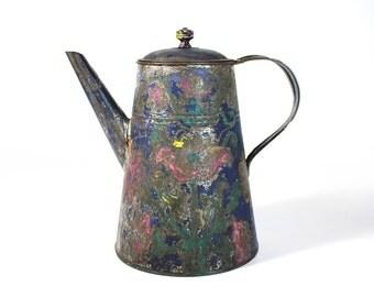 Vintage Grunge Teapot