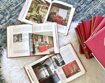 70s Decorating Books - Practical Encyclopedia of Good Home Decorating and Home Improvement Incomplete Set - 15 Volumes Available Decor Books