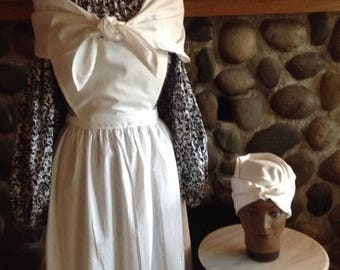 Girls Sojourner Costume Black History of America 19th Century American Civil War Clothing
