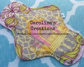 "Ready to Ship 8"" Cotton Pantyliner, Flannel back"