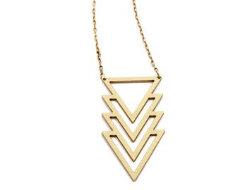 South Point Geometric Necklace
