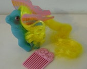 Vintage G1 My Little Pony Buzzer with Comb Hong Kong Version