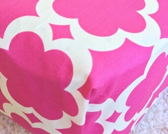 Taza Hot Pink Cotton Crib Sheet, Pink Crib Sheet, Fitted Crib Sheet, Sheet for Baby Bed, Crib Sheet for Baby Girl, Standard Crib Sheet