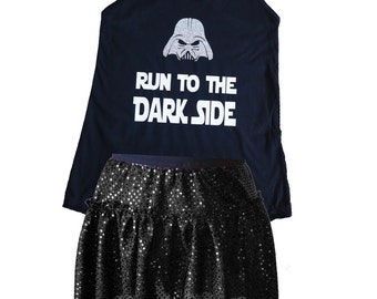 Darth Vader Costume, Star Wars Shirt, Star Wars Costume, Dark SideCostume, Star Wars Dark Side Costume, Star Wars Costume, Workout Tank Top