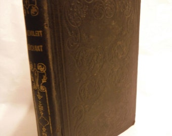 1842 The Benevolent Merchant A Novel of The Providence and Grace of God First Edition Antique Book Romance Fiction Bible Character Moral