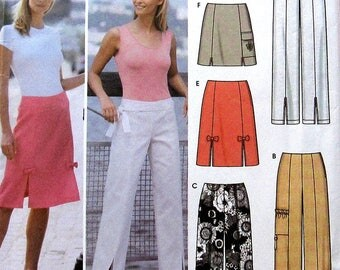Pants and Skirt Sewing Pattern UNCUT Simplicity 5202 Sizes 6-12