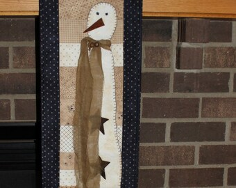 Parson Brown quilted wall hanging