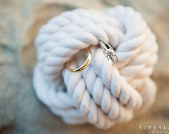 Coastal Wedding Knots 14 Table Number Holders for your Nautical  Wedding White Monkey Fist Rope  Knots