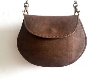 Leather women wallet  - Brown