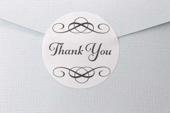 Wedding Stickers, Thank You, Wedding Favor Stickers, Wedding Favor Labels