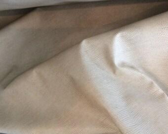 SNAKESKIN Beige VINYL Upholstery FABRIC,  32-60-02-0317