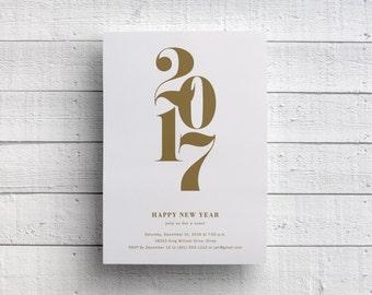 New Year's Invitation Printable