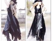 For Laura Stevie Nicks Style Kimono Duster, Gypsy Soul Duster, Boho Kimono, Hippie Ragdoll Duster, Romantic Kimono Vest, True Rebel Clothing