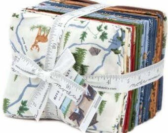 River Journey 26 Fat Quarter Bundle + 1 Panel by Holly Taylor for Moda Fabrics 6680AB