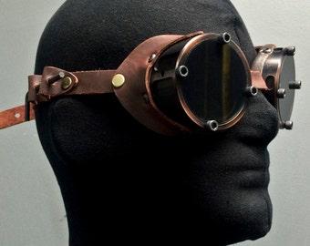 Machined Aluminum Goggles - Bronze