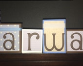 Custom Order for Amira - MARWAN & SANDRA's BLOCKS
