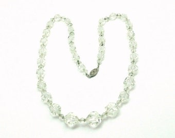 Vintage Art Deco Crystal Necklace